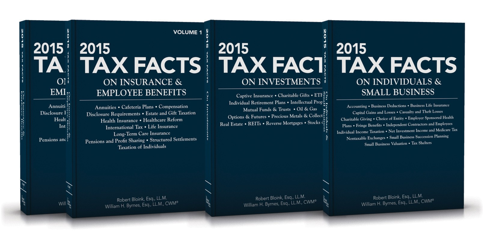 Book wealth risk management blog 2015 tax facts on insurance employee benefits2015 tax facts on investments2015 tax facts on individuals small business triple book combo fandeluxe Choice Image