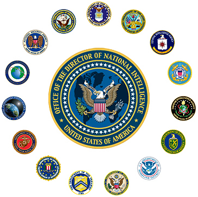 INtelligence wheel all agencies